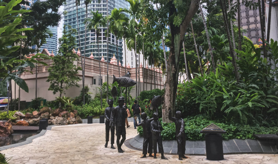 Telok Ayer Green | secret gardens in Singapore