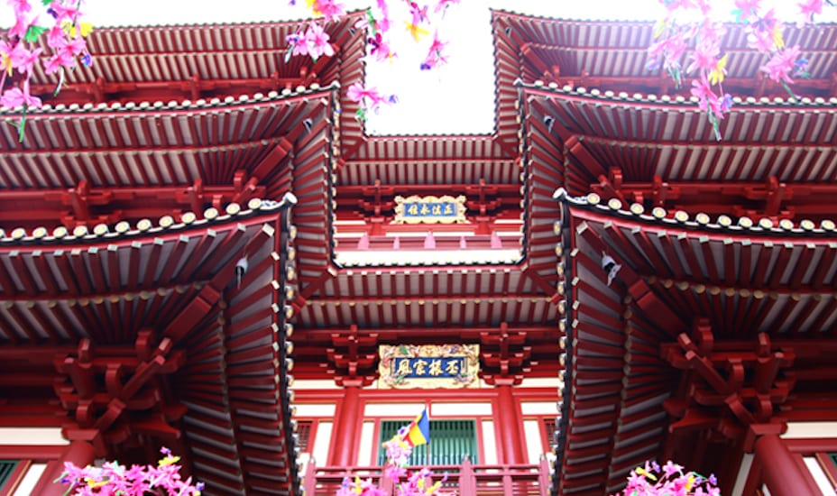 Buddha Tooth Relic Temple Honeycombers Singapore
