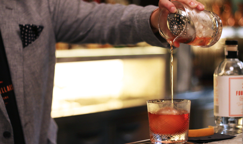 Four Pillars gin shows us how to make a Negroni, Tom Collins and gin and tonic
