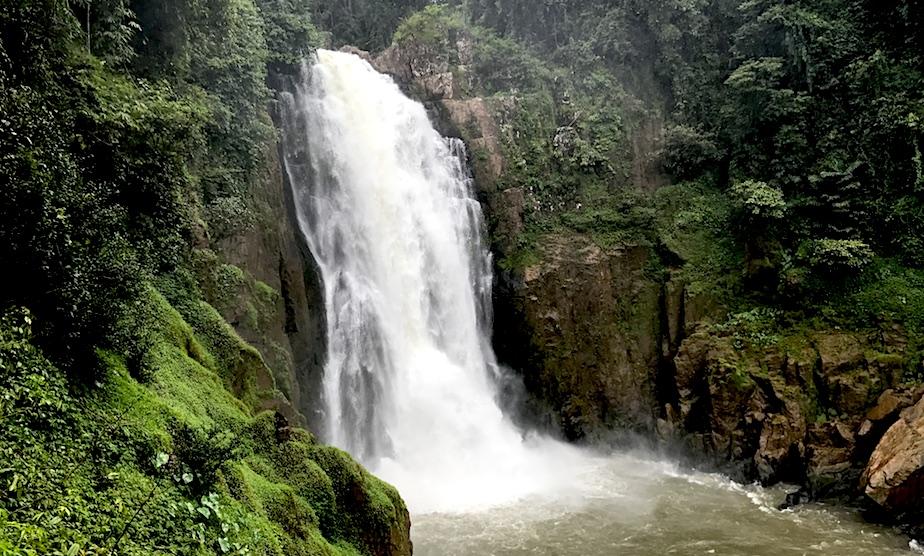 Haew Narok waterfall Khao Yai Thailand hiking trip Honeycombers Singapore
