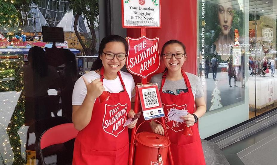 volunteer in Singapore this Christmas