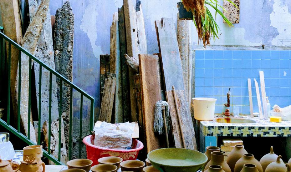 Pottery studio in Malacca