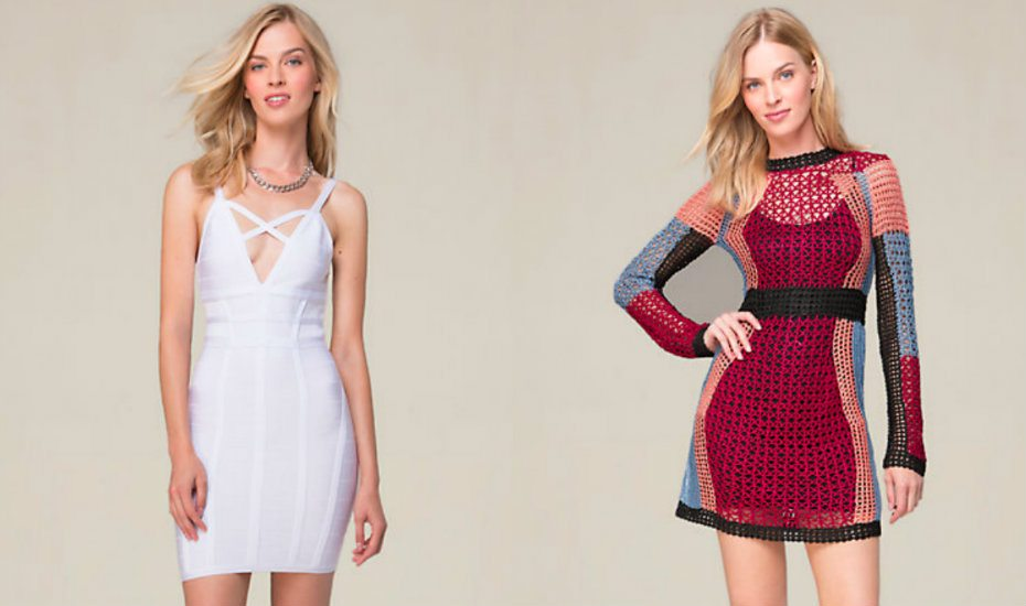 Cocktail dresses from Bebe