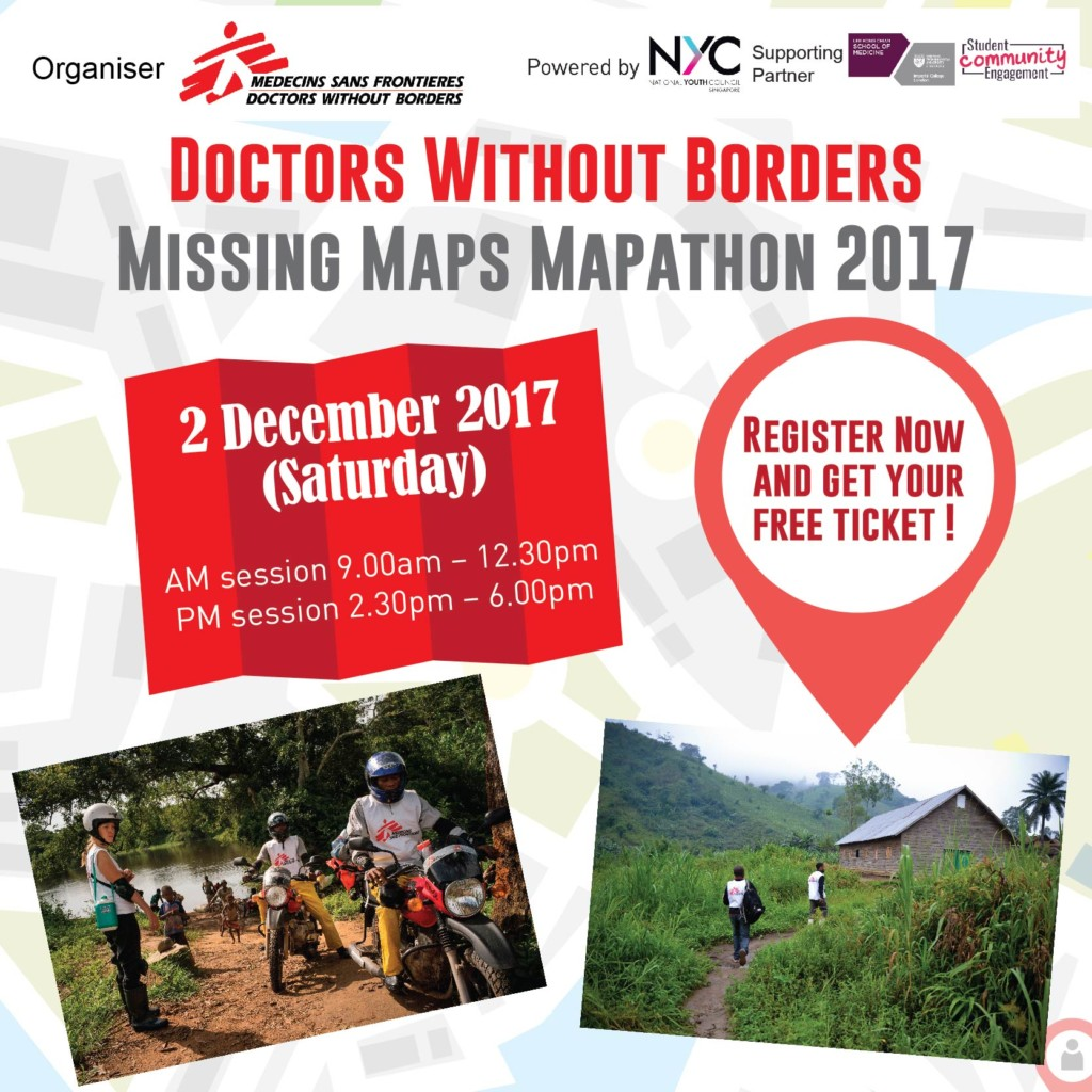 Doctors Without Borders - Missing Maps Mapathon 2017   Honeycombers on