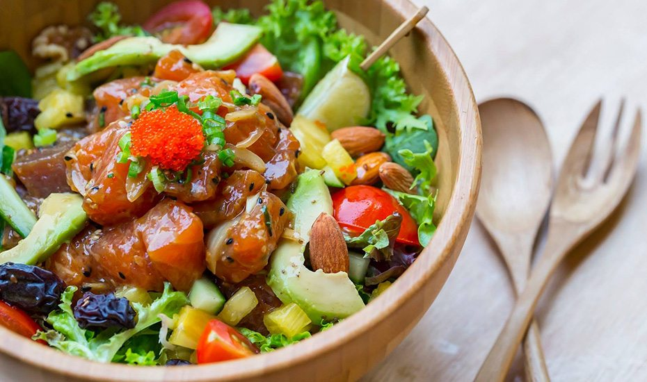 Healthy cafes in Singapore: Aloha Poké