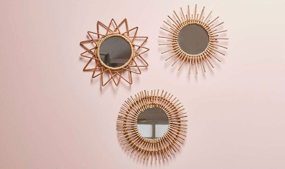 Home decor in Singapore: Shop these cool wall mirrors (Photography: Courtesy of Urban Outfitters)