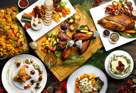 Orange Clove Catering readies for your Christmas takeaways (Photography by Orange Clove Catering)