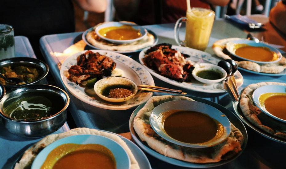 Supper in Malacca