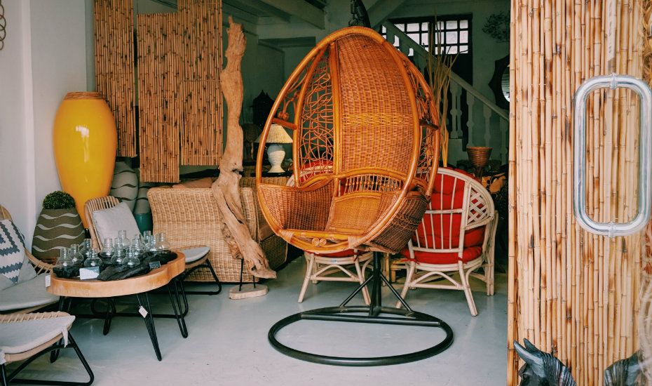 Rattan furniture in Malacca