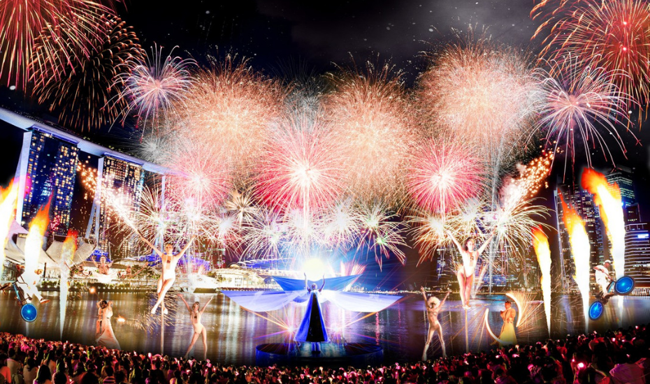 New Year's Eve countdown parties in Singapore: Star Island