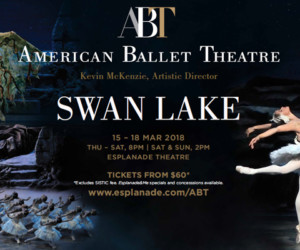 American Ballet Theatre Swan Lake at the Esplanade Honeycombers Singapore