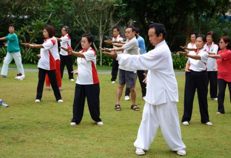 Complimentary Taiji and Qigong Classes at Singapore Chinese Cultural Centre Honeycombers Singapore