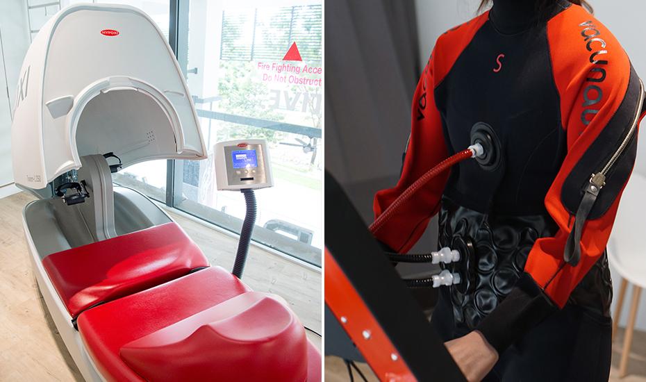 Dermology machine   Neoprene wetsuit