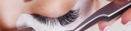 Eyelash extensions services in Singapore