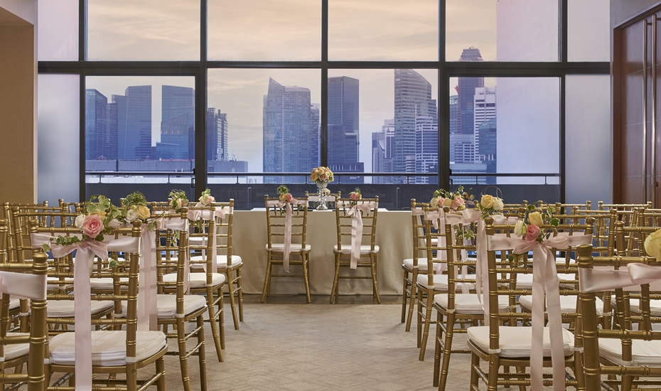 Pan Pacific Singapore: Why this newly renovated ballroom's a great wedding venue