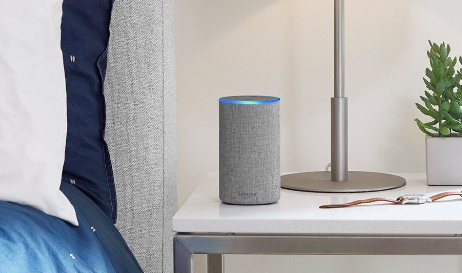 Alexa Echo fits right in your home (Photography by Amazon)