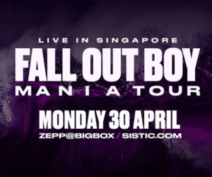 Fall Out Boy Zepp Bigbox Honeycombers Singapore