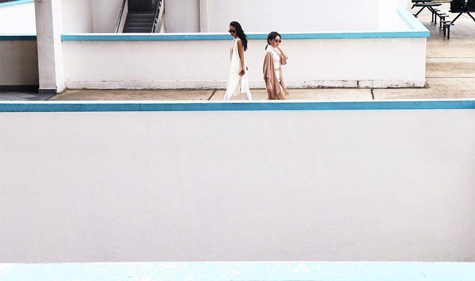 Bras Basah rooftop, Singapore
