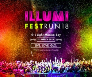 ILLUMI Fest Run 2018 honeycombers singapore