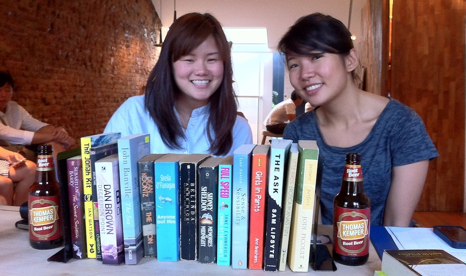 Books & Beer NLB Honeycombers