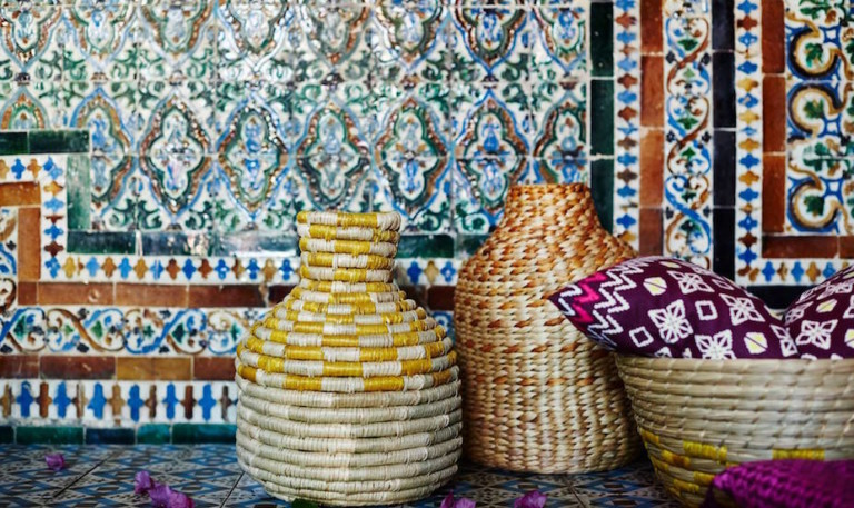 Beautiful baskets for storage and home decor: Shop wicker, woven and rattan