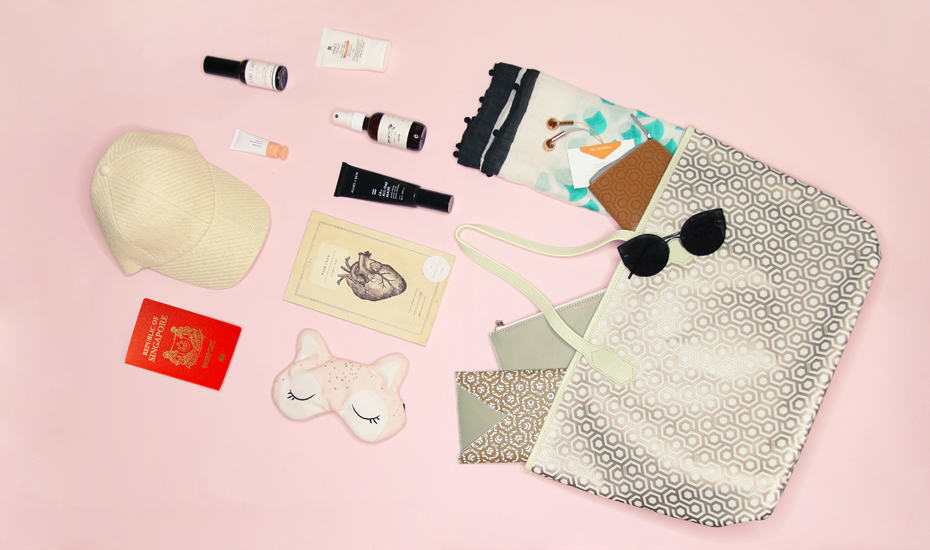 Win a shopping spree with Mischa to splurge on travel essentials for your next vacay