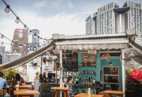 Rooftops restaurants in Singapore