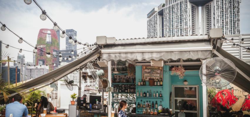 Rooftops restaurants in Singapore