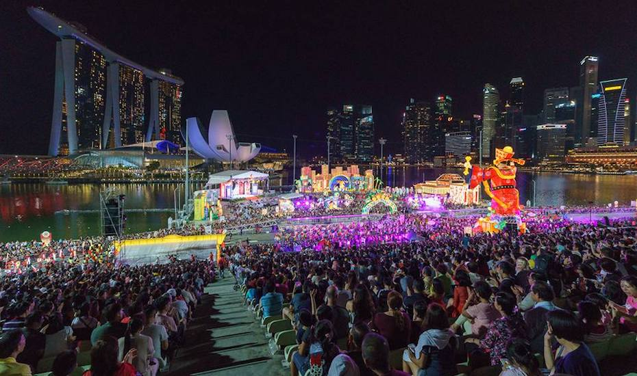chinese new year in singapore 2019 | River Hongbao 2019