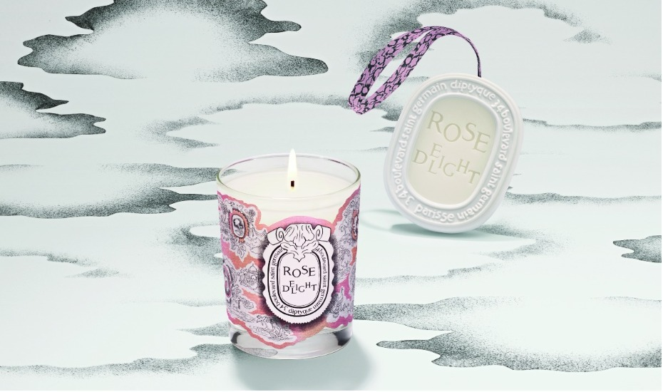 The Diptyque rose collection