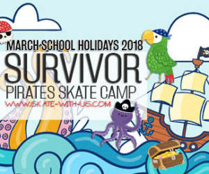 2018 March and June Holiday Programmes Survivor Pirate Skate Camp