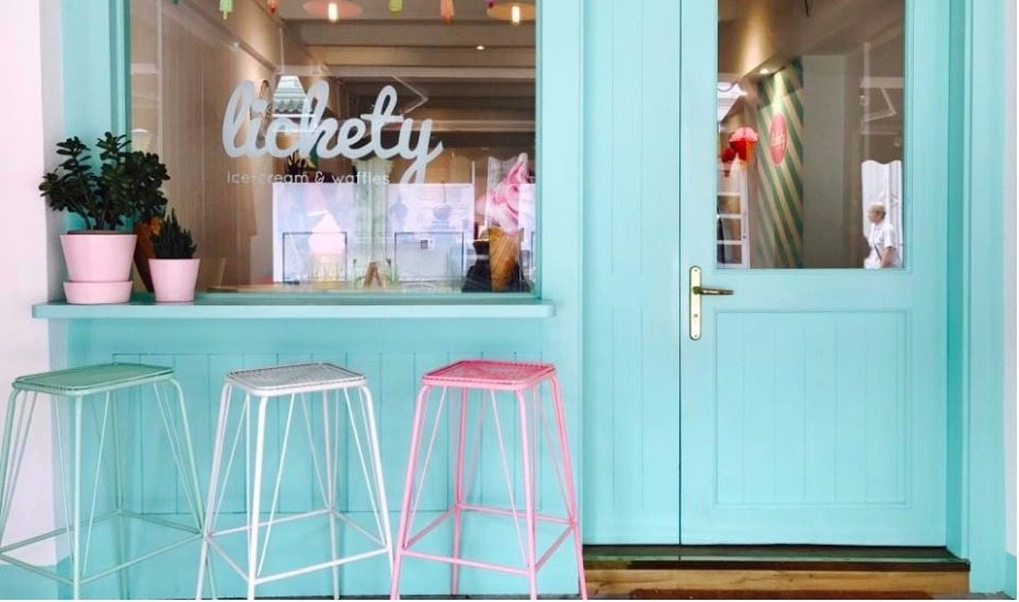 Halal ice cream cafe Lickety