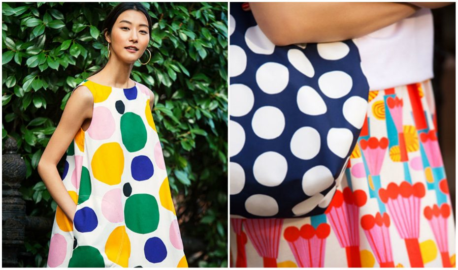 Add UNIQLO x Marimekko's bold collection to your fashion shopping list