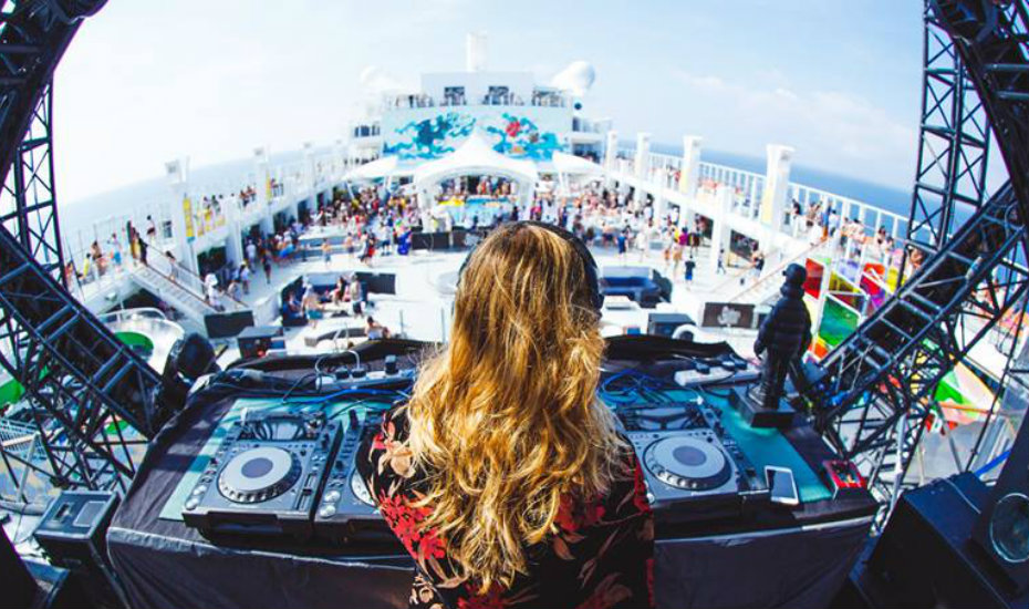 A music festival on a ship? Sign us up (Photography via It's The Ship)