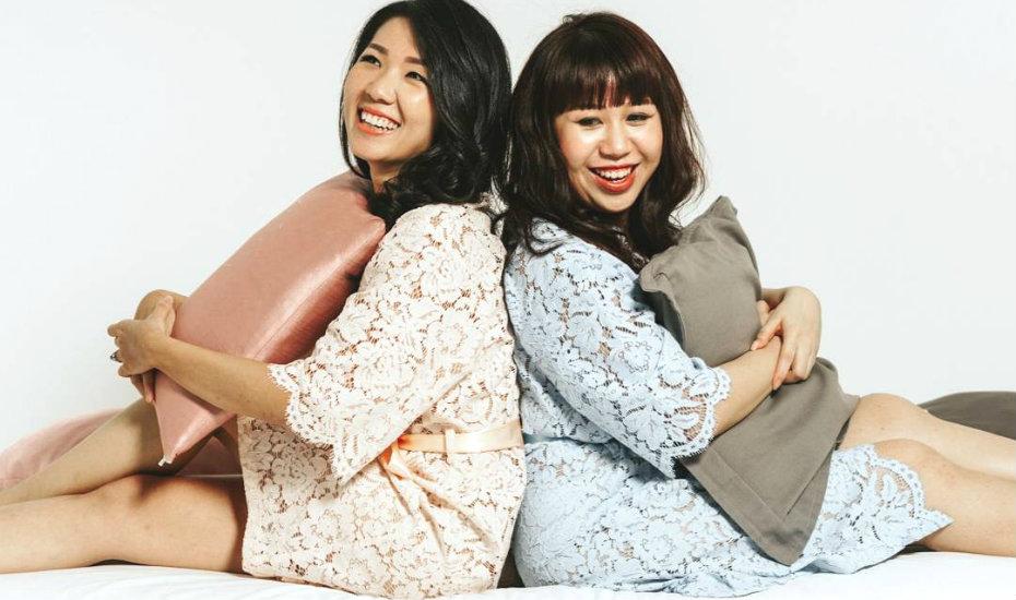 bells and birds | Cute Pajamas Singapore | Sleepwear Singapore | Singapore PJs loungewear | robes camis pyjamas