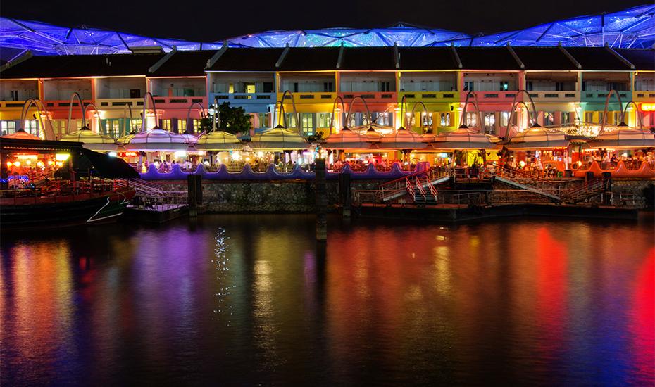 Clarke Quay Honeycombers Singapore