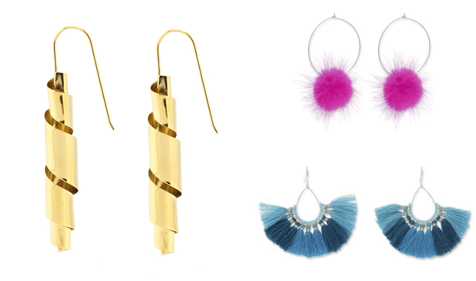 Statement earrings in Singapore: Zarabelle