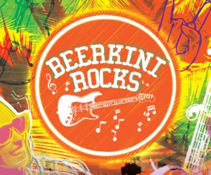 Beerkini Rocks at Bikini Bar, Siloso Beach Sentosa Honeycombers Singapore