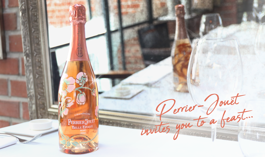 Don't miss this Perrier-Jouët Champagne dinner at OSO Ristorante