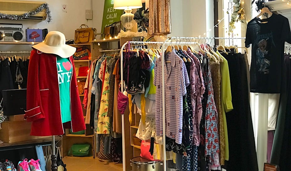The Eclectic Room offers a mix of vintage fashion and unique designs.