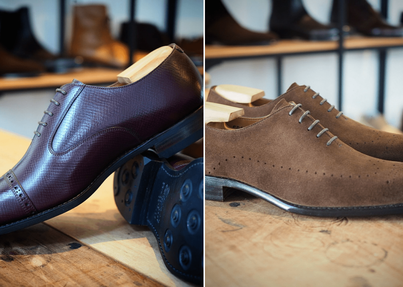 Men's Dress Shoes: Ed Et Al Shoemakers
