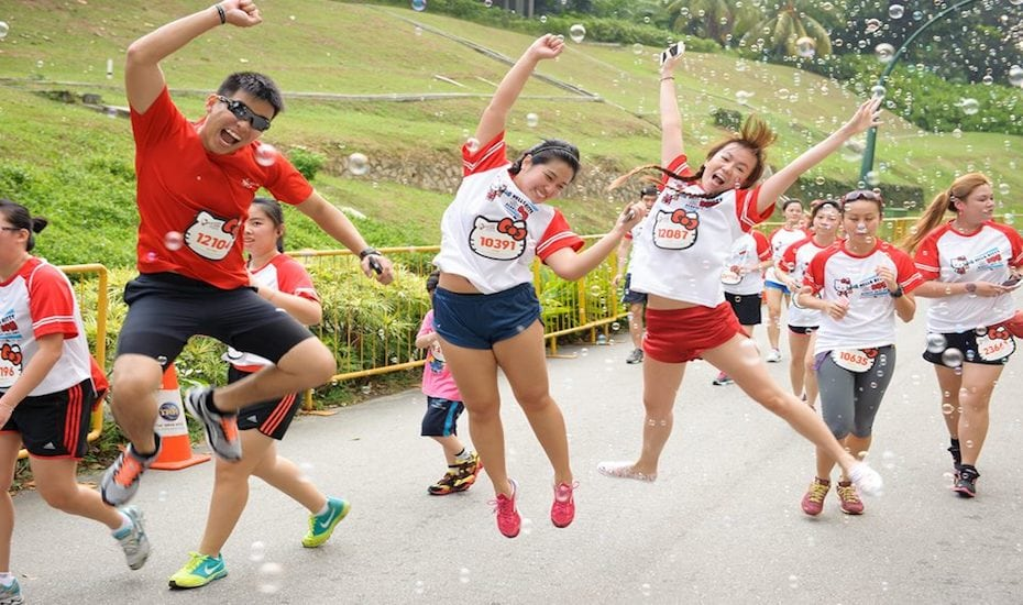 The Hello Kitty themed run is back in Singapore!