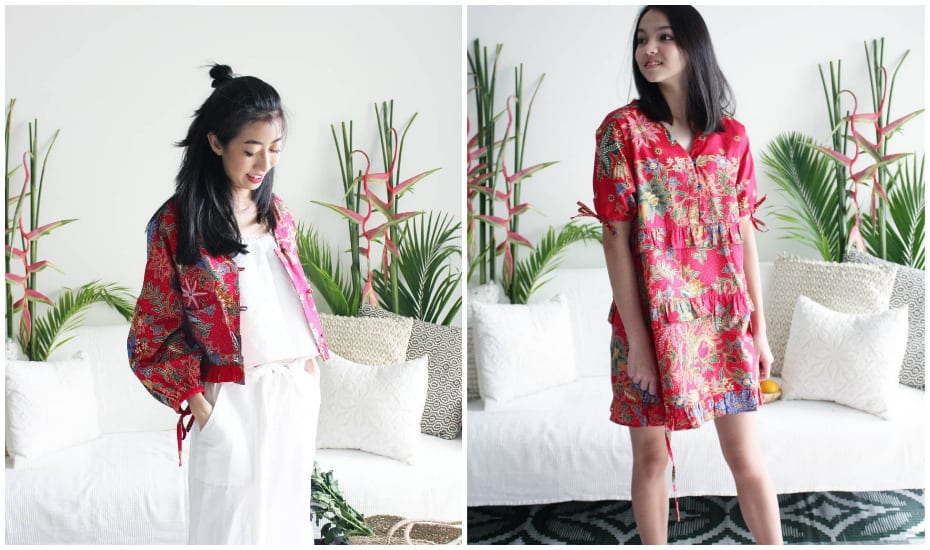 An alternative to the cheongsam: Kanoe's latest collection brings hint of Chinese New Year style in festive red batik