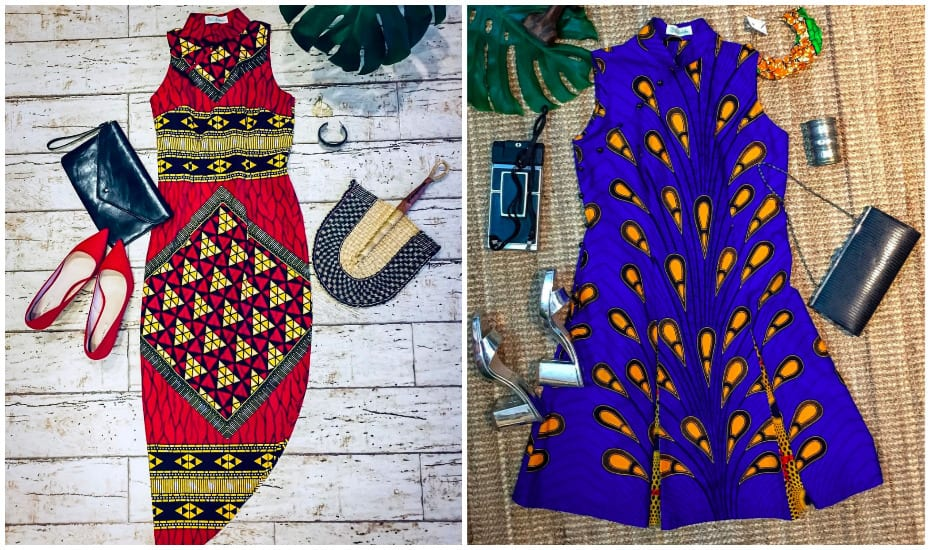 Olive Ankara's cheongsams in African fabrics