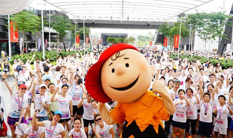 Get a chance to run at a Snoopy themed race!