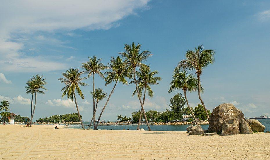 Siloso beach honeycombers singapore