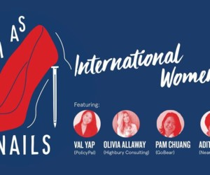 WeWork International Women's Day honeycombers singapore
