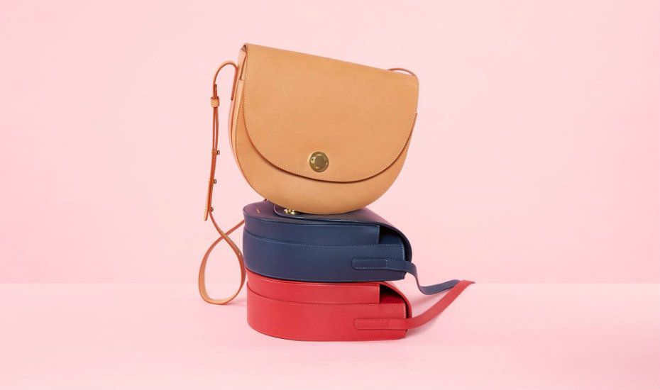 5eb6305585a Minimalist, label-free handbags for style lovers who hate big designer logos