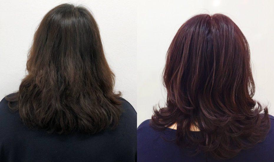 Salon Infinity hair colour treatment
