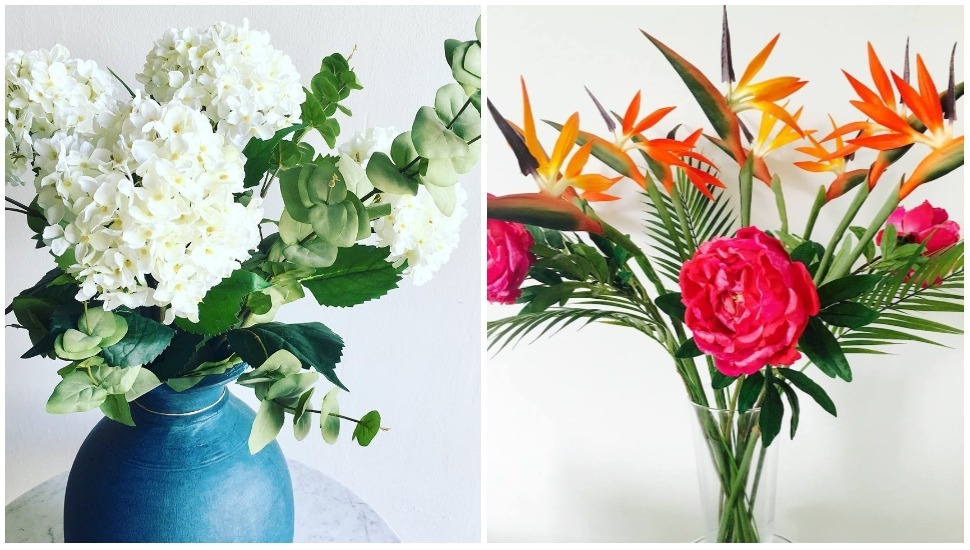 The most natural-looking faux flowers we've ever seen, by Silk Flowers Singapore